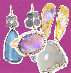 radiant orchid opal collage