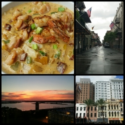 Crawfish, the Quarter, and sunsets on the Gulf