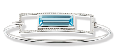 Jane-Taylor-B923F-hook-bracelet-with-blue-topaz-and-diamonds-in-white-gold
