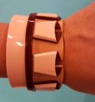 Acrylic cuff by Aramez