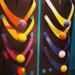Ceraselle leather and botton necklaces